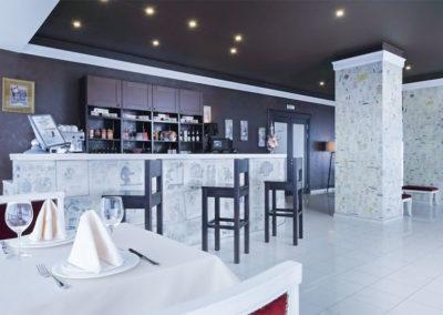 Зал ресторана «Dolce Vita» в санатории «Русь» Ессентуки - фотография