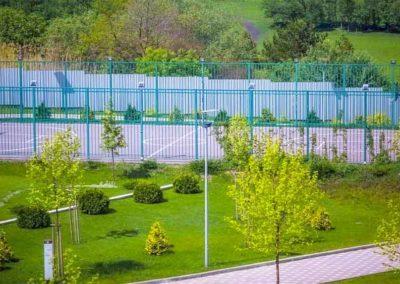 Спортивная площадка в санатории Русь в Ессентуках - фотография