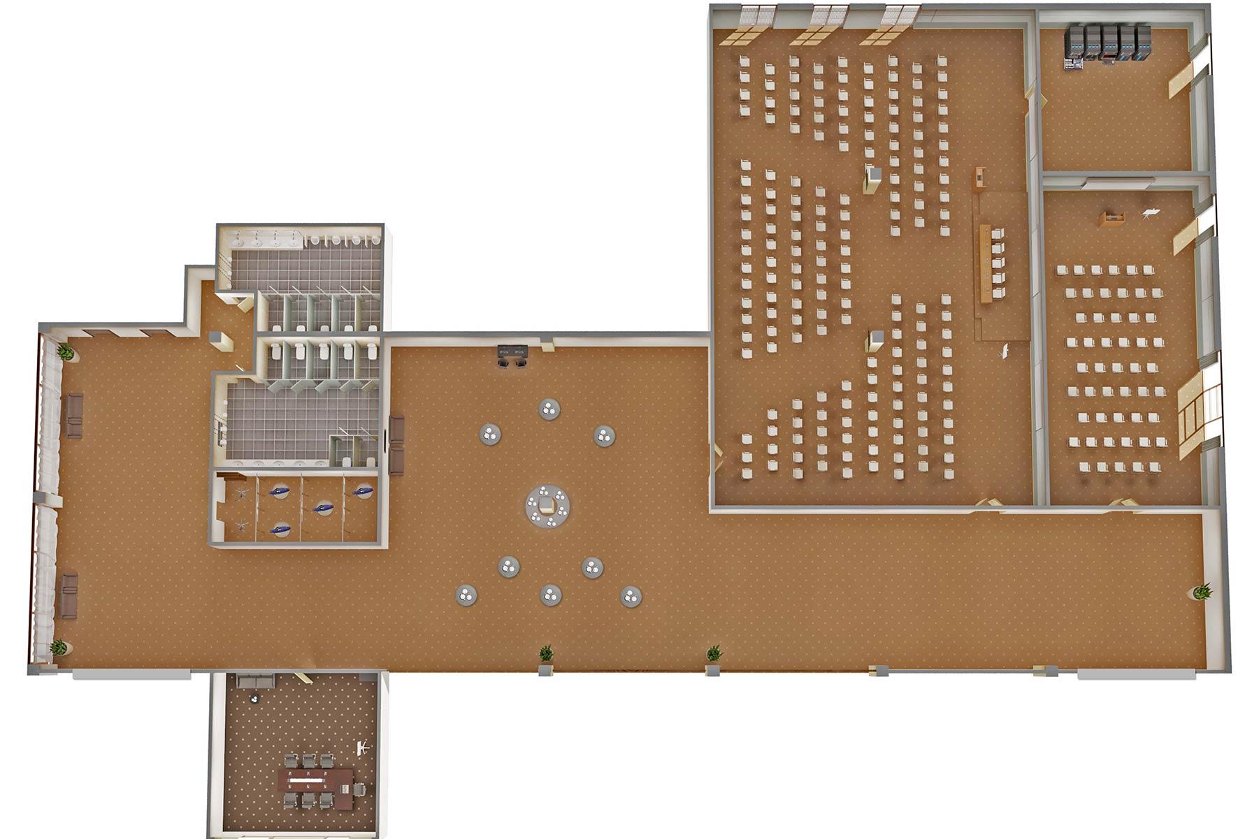 План-схема-делового центра санатория Русь Ессентуки