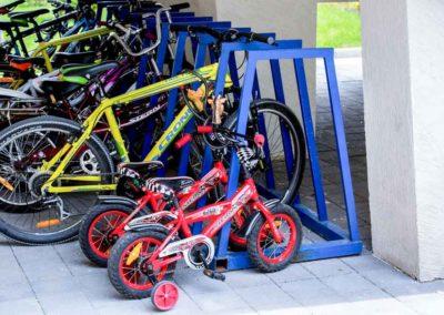 Прокат велосипедов в санатории Русь в Ессентуках - фотография