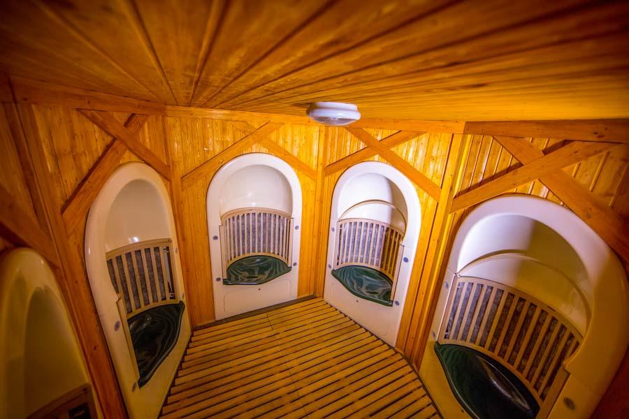Сенная баня в SPA центре Эльмонт в санатории Русь в Ессентуках - фотография