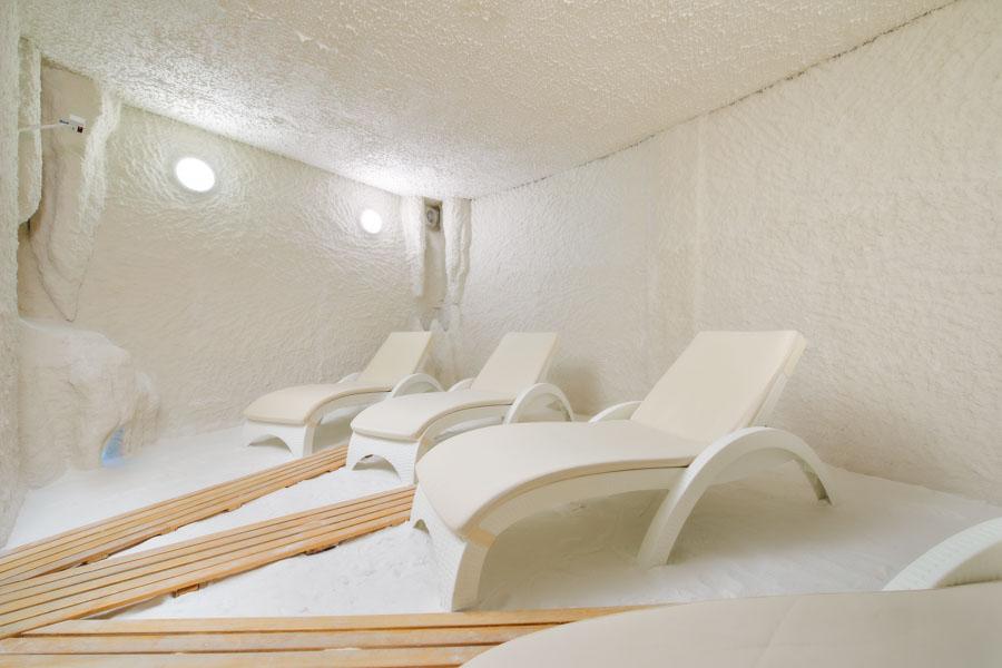 Солевая комната в SPA центре Эльмонт в санатории Русь в Ессентуках - фотография