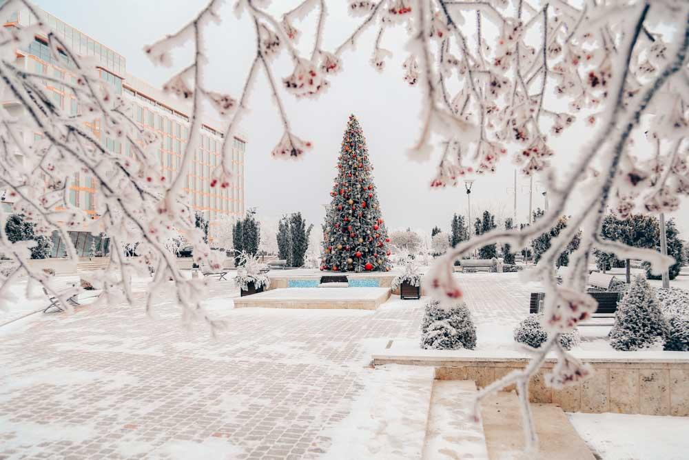 Новогодняя ёлка в санатории Русь Ессентуки - фотография