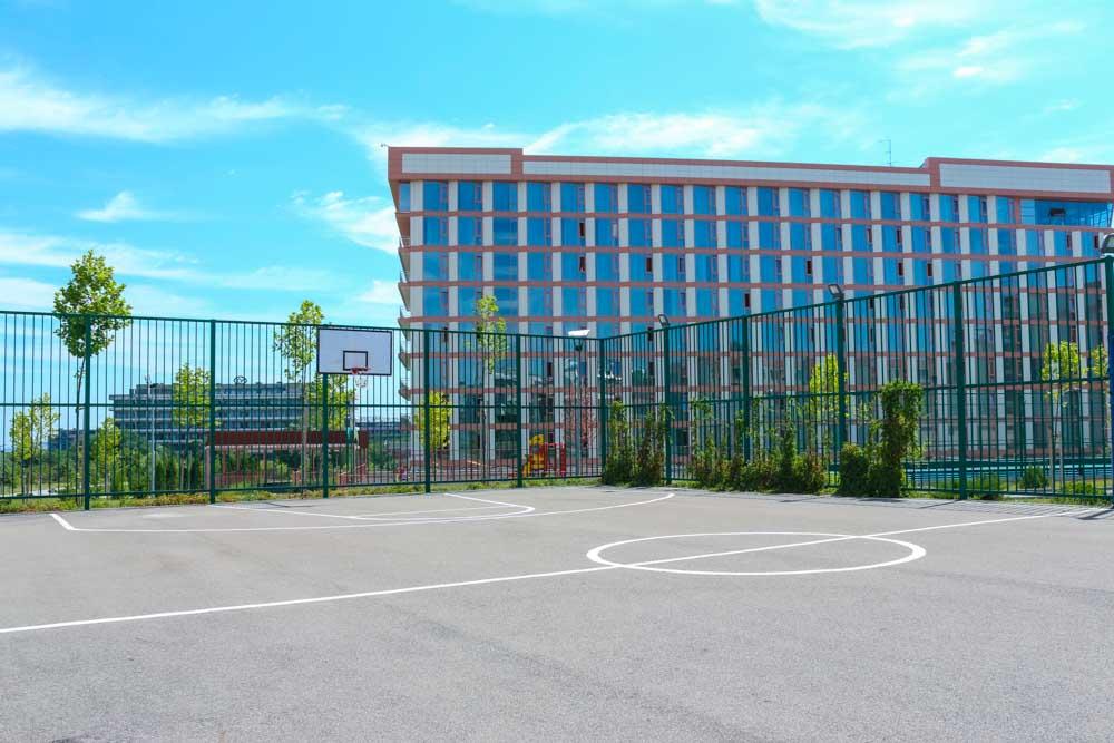 Универсальная спортивная площадка санатория Русь Ессентуки - фотография