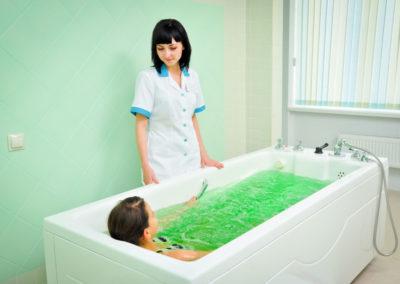 Ванна с морской солью в санатории Русь Ессентуки - фотография