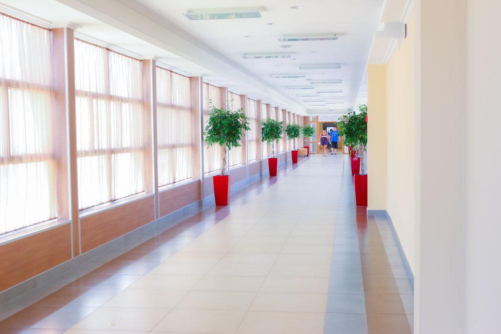 Тёплый переход между корпусами в санатории Русь Ессентуки - фотография