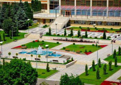 Сквер санатория Русь Ессентуки