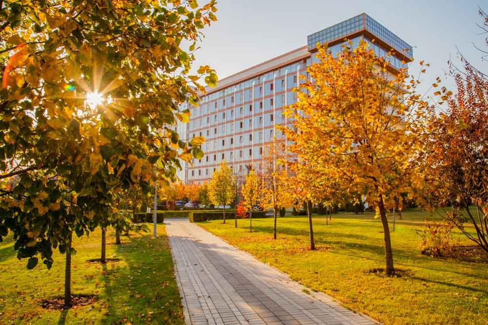 Осень в санатории Русь Ессентуки - фотография